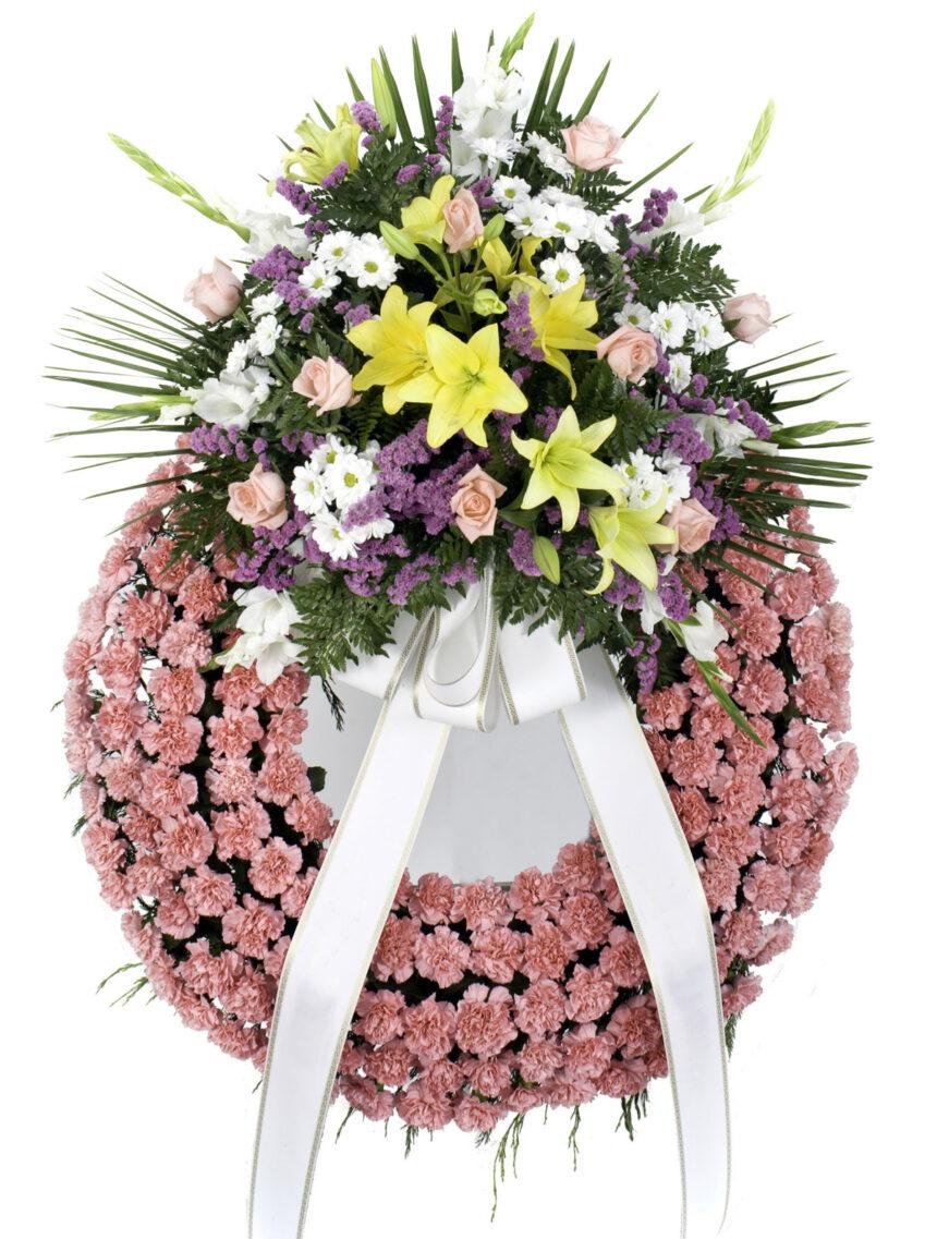 Imagen - Corona de Rosas y Lilium