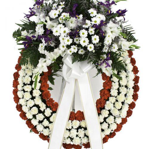 Imagen - Corona de Liatrix o Iris y margaritas