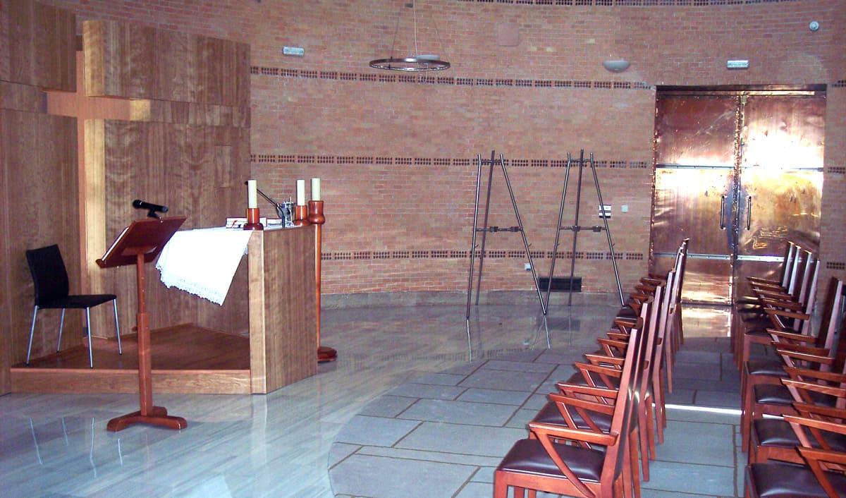Imagen - Nueva sala de ceremonias en el tanatorio